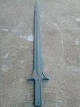 Кельтський бронзовий акінак(репліка), фото №5