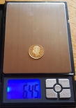 Италия, 20 лир 1882г., золото 6,45г., фото №3