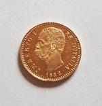 Италия, 20 лир 1882г., золото 6,45г., фото №13