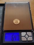 20 франков 1908 год, Франция, золото 6,45 грамм 900', фото №3