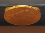 20 франков 1908 год, Франция, золото 6,45 грамм 900', фото №5