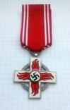 Крест 2 класса за 25 лет службы в пожарной охране, III Рейх, Германия (КОПИЯ)., фото №2
