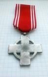 Крест 2 класса за 25 лет службы в пожарной охране, III Рейх, Германия (КОПИЯ)., фото №4