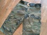 Mil-Tec by sturm - камуфляж шорты с ремнем, фото №3