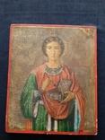 Икона Пантелеимон Целитель, благословение св. Афонской Горы, фото №3