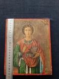 Икона Пантелеимон Целитель, благословение св. Афонской Горы, фото №5