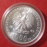 1000 злотых  серебро, фото №2