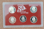 US Mint 50 States Quarters Silver Proof Set 2006, фото №4