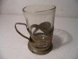 Подстаканник * Запорожье*  со стаканом., фото №4