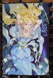 Открытки манга аниме девушки фентези, фото №3