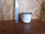 Чашка белая фото 3