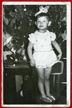 Новый Год девочка снежинка гирлянда, фото №2
