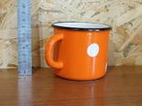 Чашка оранжевая фото 3