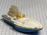 Lesney Matchbox Superfast 5 Seafire Boat Blue Driver Toy Model Made in England, фото №2