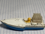 Lesney Matchbox Superfast 5 Seafire Boat Blue Driver Toy Model Made in England, фото №4