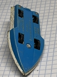 Lesney Matchbox Superfast 5 Seafire Boat Blue Driver Toy Model Made in England, фото №7