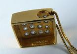 Золотой кулон с бриллиантами на цепочке, фото №9