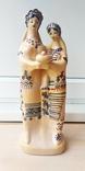 Статуэтка, керамика. Украинки с караваем., фото №2