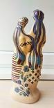Статуэтка, керамика. Украинки с караваем., фото №4