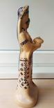 Статуэтка, керамика. Украинки с караваем., фото №5