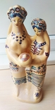 Статуэтка, керамика. Украинки с караваем., фото №8