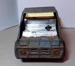 Грузовая машинка времён СССР длина 21 см., фото №9