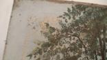 Картина СССР. Свидание у колодца. Масло. Холст. Копия., фото №7