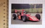 Календарик: реклама гоночные машины, 1990 / авто, фото №2