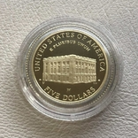 США 5$ 2001 год 8,35 грамм 900', фото №3