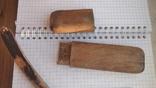 Опасная бритва Crown and sword solingen в деревянном футляре, фото №3