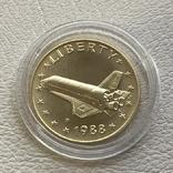 США 5$ 1988 год 8,35 грамм 900', фото №2
