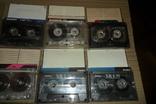 Аудиокассета кассета Konica Range Fuji и др. - 9 шт в лоте, фото №4