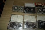 Аудиокассета кассета Konica Range Fuji и др. - 9 шт в лоте, фото №6