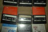 Аудиокассета кассета TDK Swat SNC и др. - 9 шт в лоте, фото №7