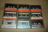 Аудиокассета кассета TDK Swat SNC и др. - 9 шт в лоте, фото №9