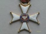 Орден Відродження Польщі 4 кл. Polonia Restituta. 1944., фото №3