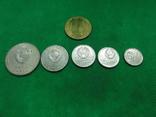 Набор юбилейных монет 50 лет октябрю 1917-1967, фото №3