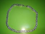 Цепь серебро 925 пробы, фото №7