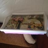 Поднос на подушке, кофейный поднос, поднос для завтрака в постель, фото №2
