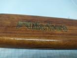 Деревянная коробочка для ручки. Надпись Marlboro, фото №4