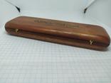 Деревянная коробочка для ручки. Надпись Marlboro, фото №6