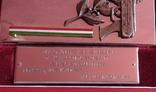 Связь,Венгрия, памятная плакета в родной коробке 2, фото №3
