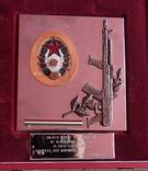 Связь,Венгрия, памятная плакета в родной коробке 2, фото №2