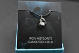 Кулон с метеоритом, Campo Del Cielo, Железный метеорит, Уникальный подарок, фото №3