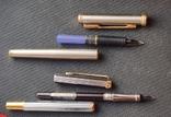 Две перьевые ручки(иридивое перо и нумерная), фото №4
