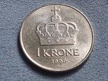 Норвегия 1 крона 1996 года, фото №2