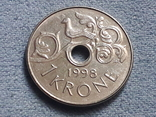 Норвегия 1 крона 1998 года, фото №2