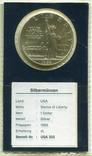 США 1 доллар 1986 г. 100-летие Статуи Свободы. Остров Эллис., фото №2