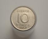 10 эре 1957 года, Швеция, фото №2