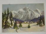 Открытка 1910-1950 годы.   №102, фото №3